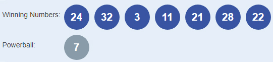 Powerball Lottery Results 04-10-2018